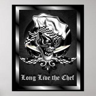 Crâne 5 de chef poster