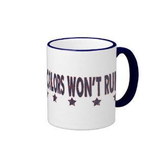 Crâne américain patriotique tasse à café