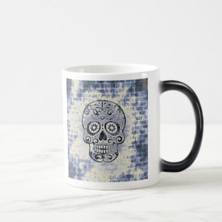 crâne bleu mug magique