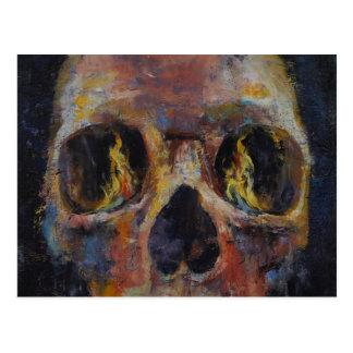 Crâne Carte Postale