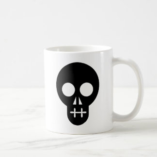 Crâne/Craneo/Crânio/Crâne Mug Blanc