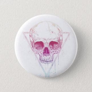 Crâne dans la triangle badges