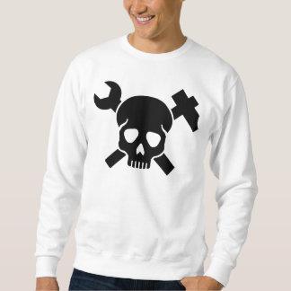 Crâne d'artisan sweatshirt
