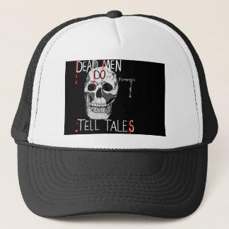 crâne de casquette de la science légale de csi