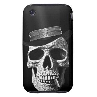 Crâne de chapeau supérieur coque iPhone 3 tough