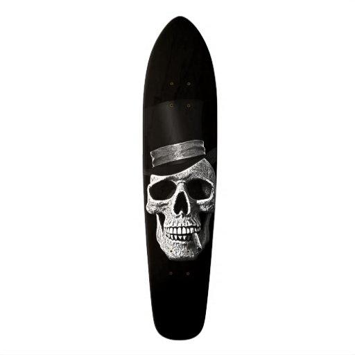 Crâne de chapeau supérieur skateboard