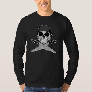 Crâne de chef avec le Bandana T-shirt