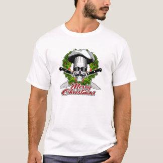 Crâne de chef : Joyeux Noël T-shirt