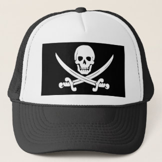 Crâne de drapeau de pirate et cadeau de jolly casquette