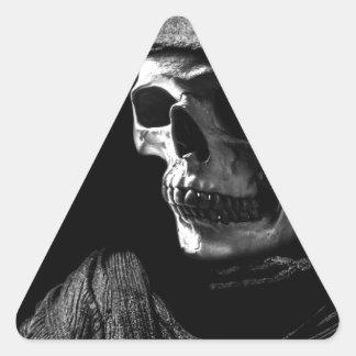 Crâne de faucheuse adhésif