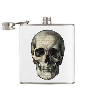 Crâne de journal flasques