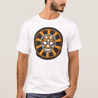 crâne de rayon de soleil de boudine t-shirt