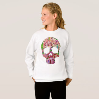 Crâne de ressort sweatshirt