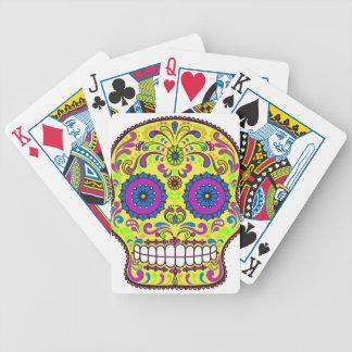 Crâne de sucre du best-seller jeu de cartes
