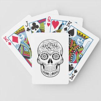 Crâne de sucre jeux de cartes