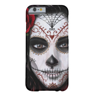 Crâne de sucre par des conceptions de Mike Morgan Coque iPhone 6 Barely There