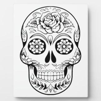 Crâne de sucre plaques d'affichage