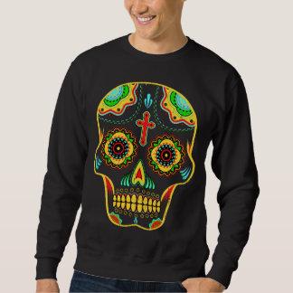 Crâne de sucre polychrome sweatshirt