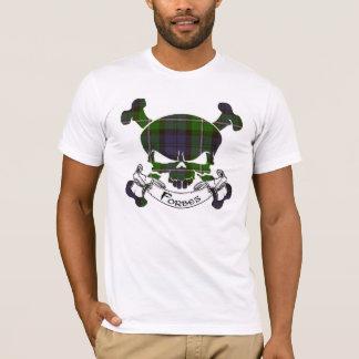 Crâne de tartan de Forbes T-shirt