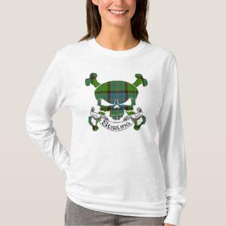 Crâne de tartan de Stirling T-shirt