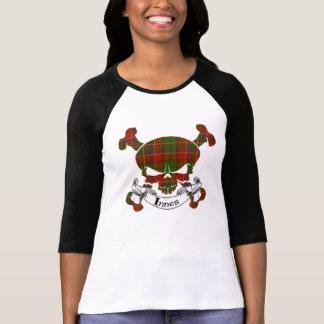 Crâne de tartan d'Innes T-shirt