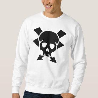 Crâne d'électricien sweatshirt