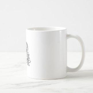 crâne d'oprn plus grand mug blanc