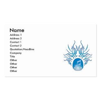Crâne d'orchestre modèles de cartes de visite