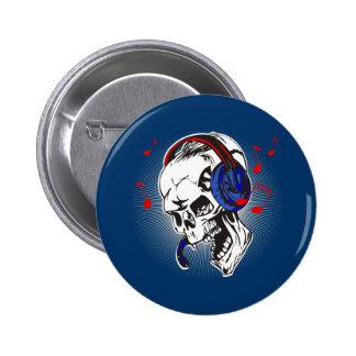 Crâne du DJ Badges
