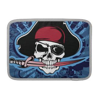 Crâne d'un pirate poche macbook air