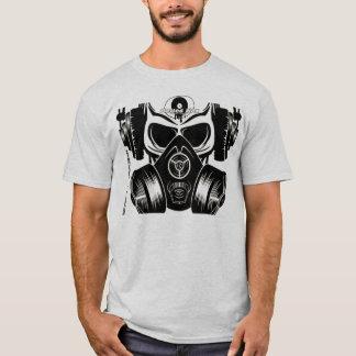 Crâne et chemise de Gasmask T-shirt