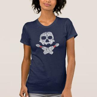 Crâne et goupilles de bowling t-shirt