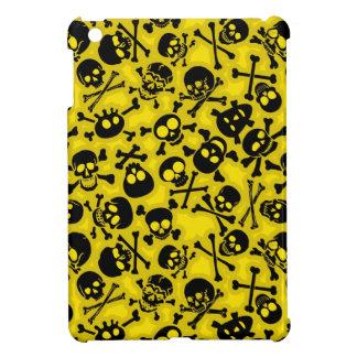 Crâne et motif d'os croisés coque iPad mini
