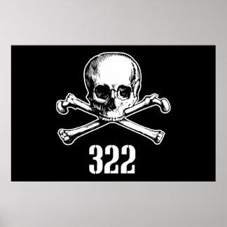 Crâne et os 322 affiches
