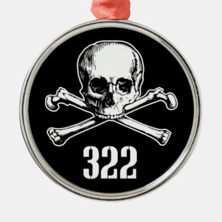 Crâne et os 322 décorations pour sapins de noël