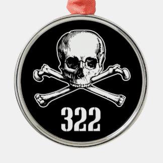 Crâne et os 322 ornement de noël