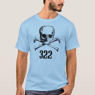 Crâne et os 322 t-shirt