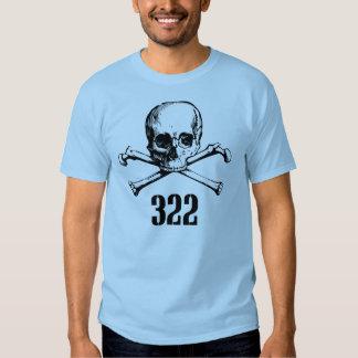 Crâne et os 322 t-shirts