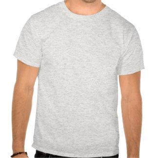 Crâne et pirate personnalisés d'os croisés t-shirts