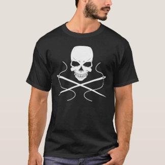 Crâne et T-shirt d'aiguilles