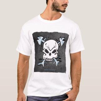 Crâne et T-shirt d'arêtes de poisson