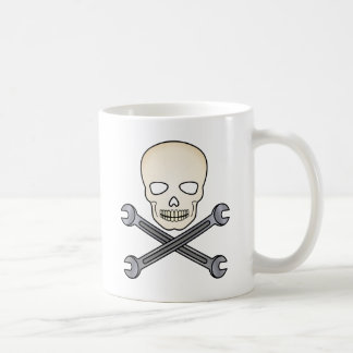 Crâne et X-Clé Mug