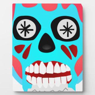Crâne étranger plaques d'affichage