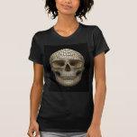 Crâne fait de cercles t-shirt
