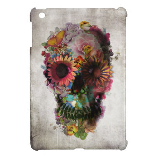 Crâne floral coque iPad mini