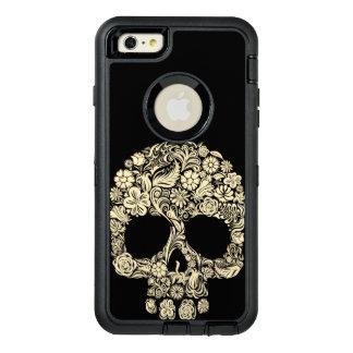 Crâne floral de sucre coque OtterBox iPhone 6 et 6s plus