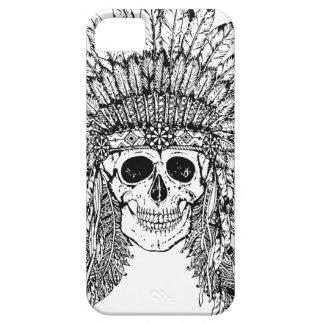 Crâne gothique de style tribal avec le graphique coque Case-Mate iPhone 5