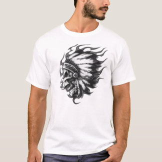 Crâne indien t-shirt
