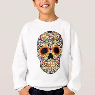 Crâne mexicain de couleur sweatshirt