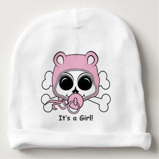 Crâne mignon de bébé bonnet de bébé